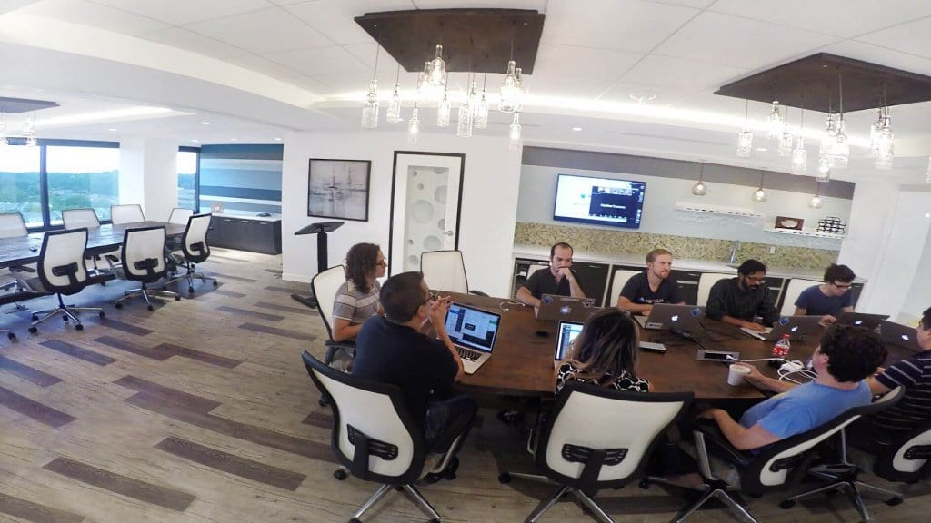 Fully equipped meeting spaces for teams of all sizes to collaborate
